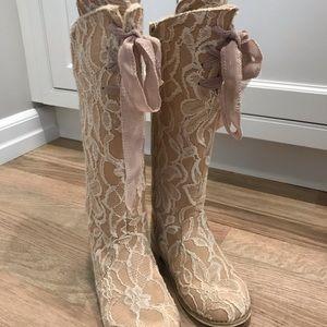 Joyfolie girls Lacey Rose Boot- size 11
